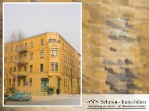 Eckhaus - Hausansicht - Wohnungen in der Bernhardystraße 13, südliche Innenstadt von Halle (Saale)
