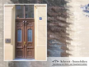 Hauseingang - Hausansicht - Wohnungen in der Bernhardystraße 13, südliche Innenstadt von Halle (Saale)