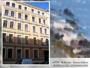 Hausansicht - Wohnungen in der Bernhardystraße 28, südliche Innenstadt von Halle (Saale)