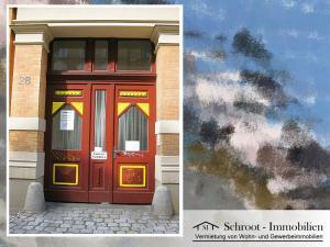 Toreinfahrt - Wohnungen in der Bernhardystraße 28, südliche Innenstadt von Halle (Saale)