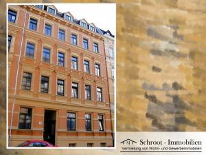 Hausansicht - Wohnungen in der Bernhardystraße 38, südliche Innenstadt von Halle (Saale)