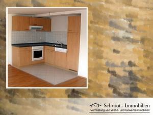 Küchenzeile - Wohnungen in der Bernhardystraße 38, südliche Innenstadt von Halle (Saale)