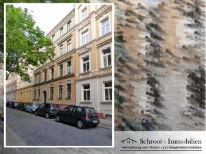 Hausansicht - Wohnungen in der Bernhardystraße 55, südliche Innenstadt von Halle (Saale)