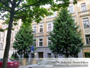 Hausansicht - Wohnungen in der Bernhardystraße 58 Halle (Saale), südliche Innenstadt