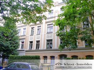 Hausansicht - Wohnungen in der Bernhardystraße 59 Halle (Saale), südliche Innenstadt