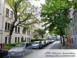 Hausansicht - Wohnungen in der Bernhardystraße 66 Halle (Saale), südliche Innenstadt