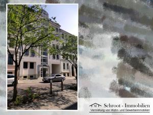 Hausansicht - Wohnungen in der Parkstraße 21, Innenstadt von Halle (Saale) im Charlottenviertel zentrumsnah wohnen