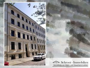 Hausansicht - Wohnungen in der Parkstraße 23, Innenstadt von Halle (Saale) im Charlottenviertel zentrumsnah wohnen