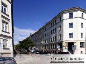 Hausansicht - Wohnungen in der Parkstraße 24, Innenstadt von Halle (Saale) im Charlottenviertel zentrumsnah wohnen