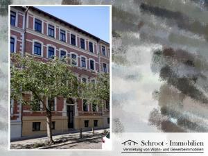 Hausansicht - Wohnungen in der Parkstraße 3, Innenstadt von Halle (Saale) im Charlottenviertel zentrumsnah wohnen